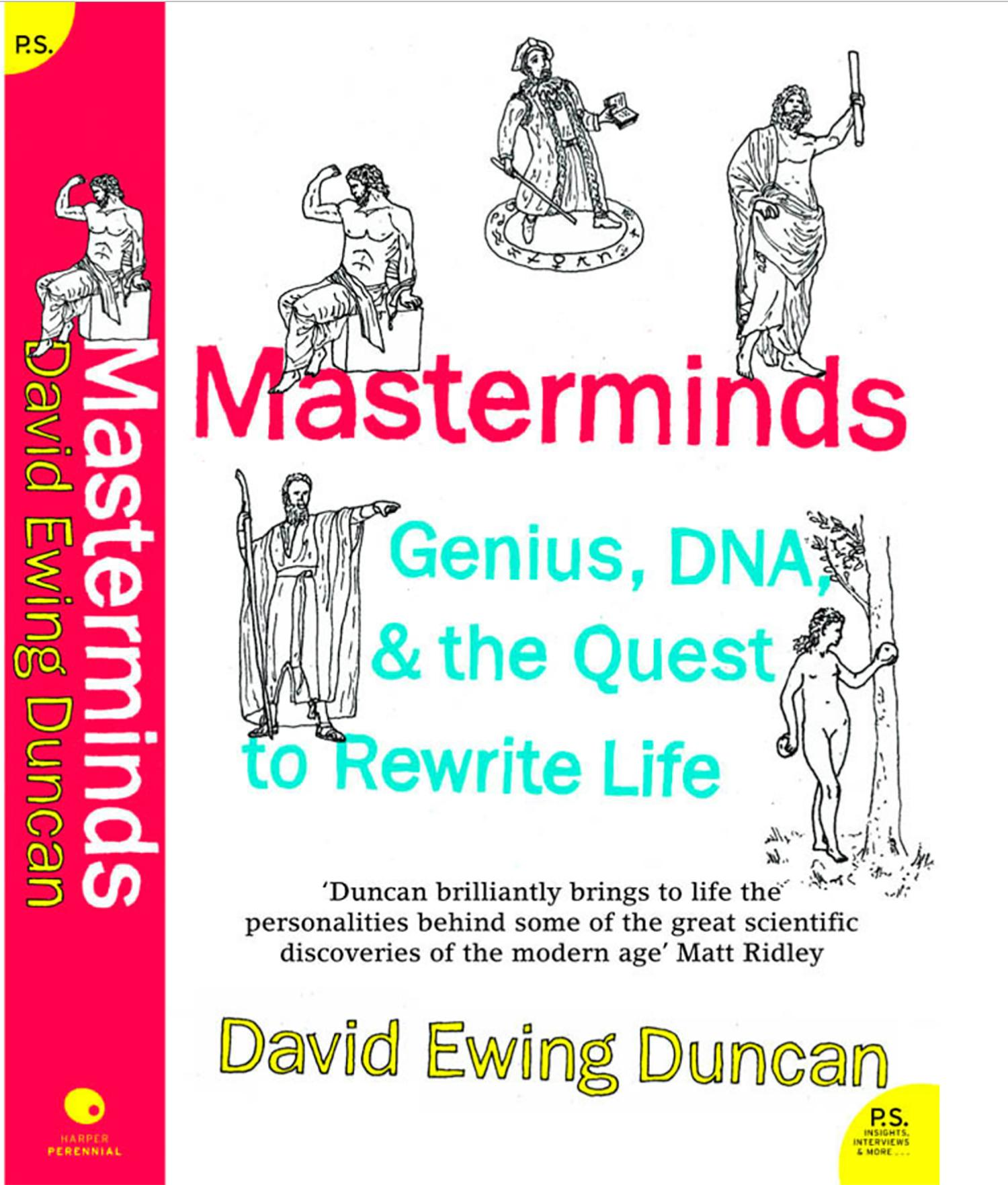The coloring book genius - Masterminds Genius Dna And The Quest To Rewrite Life William Morrow Harper Perennial